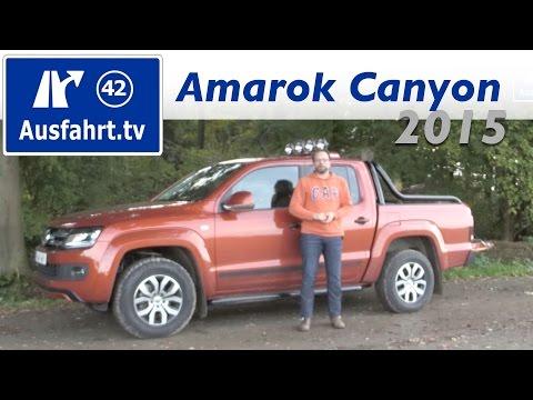 2015 Volkswagen Amarok Canyon - Fahrbericht der Probefahrt, Test, Review (German)