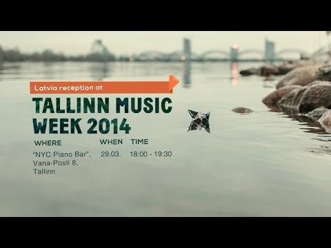 We Ship. You Listen! Latvia reception at Tallinn Music Week 2014