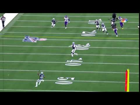 [Highlights]Tavon Austin calling fair catch against the Vikings laziest punt coverage of all time(Cowboys were down 4 and likely win the game if he returns it)