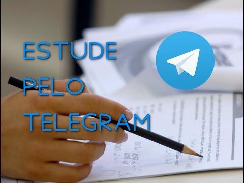Como estudar para o Enem pelo Telegram - Dica incrível!
