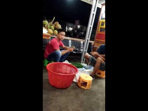 Bengkulu street food.