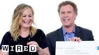 Will Ferrell & Amy Poehler Answer the Web's Most Searched Questions | WIRED thumbnail