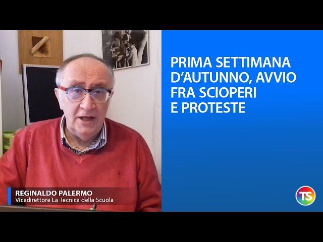 Prima settima d'autunno, avvio fra scioperi e proteste