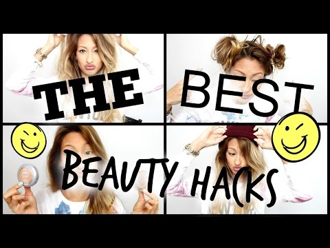 TOP FAVE BEAUTY HACKS!!! 9 TIPS