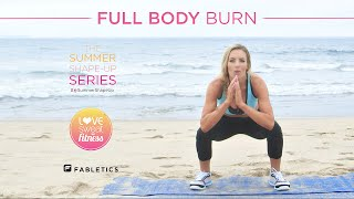 Full Body Burn HIIT Workout | Summer Shape up Series