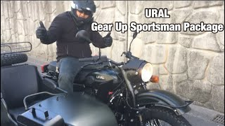 2018 URAL Gear Up Sportsman Package- First Ride