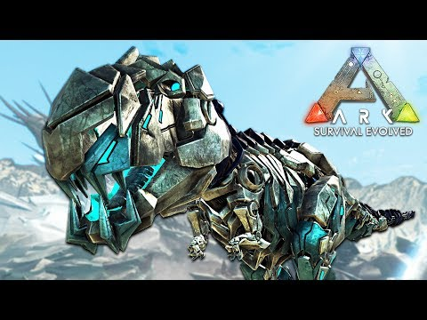 ARK: Survival Evolved - RARE ROBOT DINOSAURS!! (ARK Extinction Gameplay)