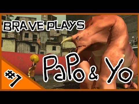 BRAVE PLAYS Papo & Yo - EPISODE ONE - Playing Hard To Get |