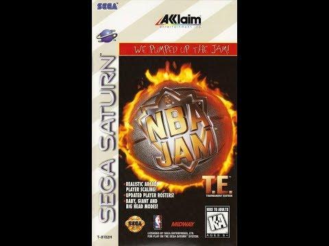 NOBODY STOPS DUH JAM!!!! Let's Play: NBA Jam TE (Sega Saturn) Feat. Davide Part 2