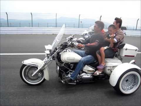 trikers 2013 6 9 トライクで史上初の富士sw走行 youtube