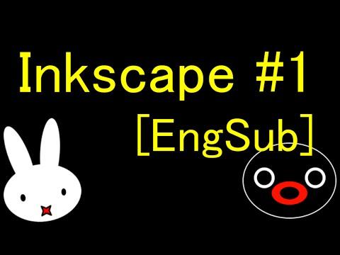【Inkscape tutorial】ゆっくり解説インクスケープイラスト講座【EngSub】#1
