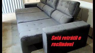 fabricando sozinho um sofá retrátil e reclinável de 3 metros! Making sofa retractable! #uphostery