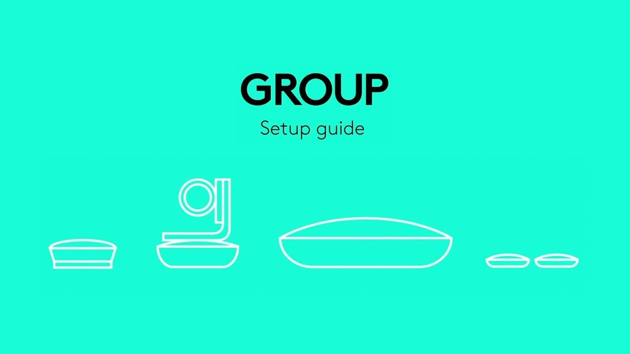 how to setup the logitech group video conferencing system [ 1280 x 720 Pixel ]