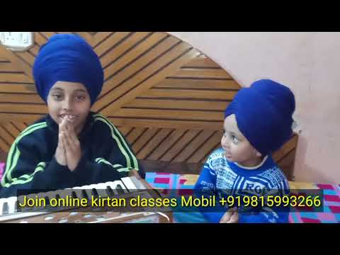 Learn Gurbani Shabad Kirtan All World Online Students By Satnam Singh Anandpur Sahib Wale
