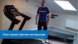 постер к видео Сколько ходить на беговой дорожке чтобы похудеть. Опыт нашего фитнес инструктора.