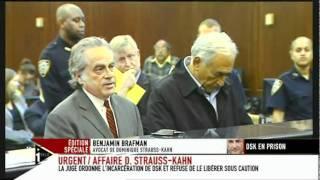 Dominique Strauss-Kahn au tribunal, New York (16 mai 2011)