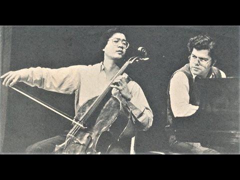 Rachmaninov:Cello Sonata 3rd mov./Yo-Yo Ma & Emanuel Ax (1989 LIVE)