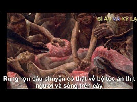 Rùng rợn câu chuyện có thật về bộ tộc ăn thịt người và sống trên cây- Được ghi lại bằng camera.