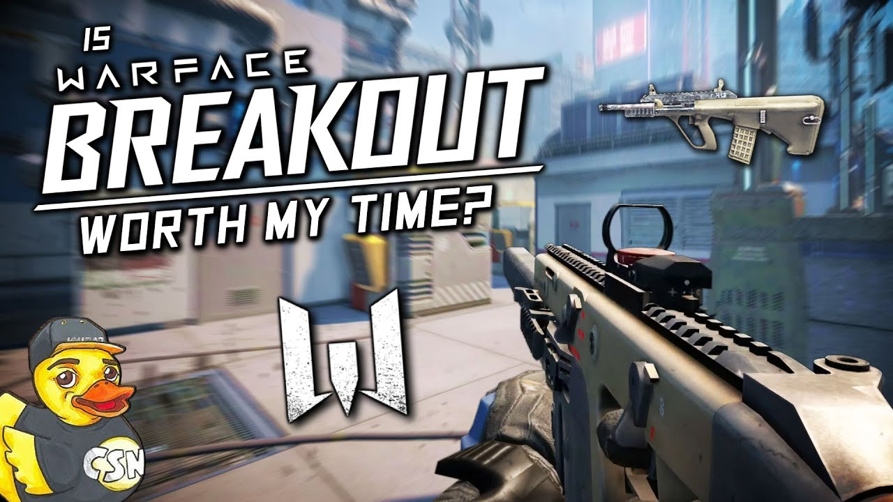 "Is ""Warface Breakout"" Worth My Time??? - AnthonyCSN thumbnail"
