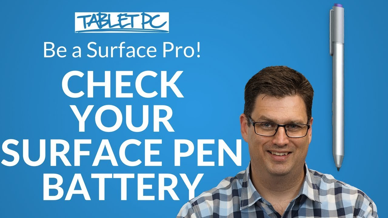 how to change surface pen battery