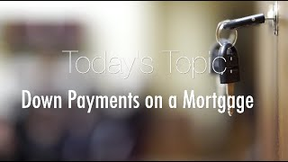 Mortgage Monday: Down Payments on a Mortgage