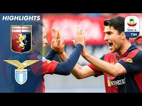 Genoa 2-1 Lazio | First-half Lazio Goal Cancelled Out by Genoa | Serie A
