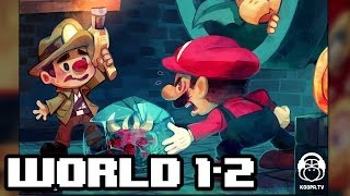 World 1-2 | halc - Blooper Reeling (Super Mario World remix)