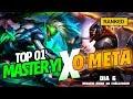 TOP 1 MASTER YI vs O META! MATHEUSBT