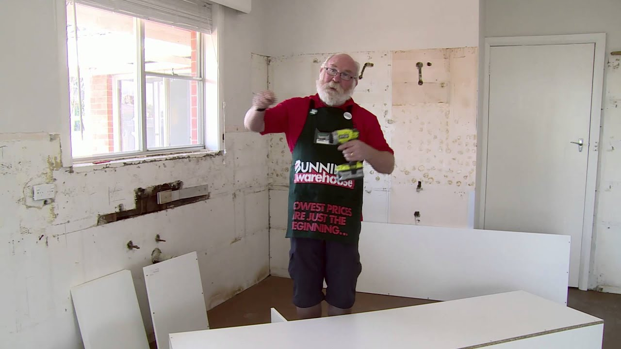 Bunnings Kitchens Flat Packs How To Build A Kitchen Pantry Diy At Bunnings Youtube