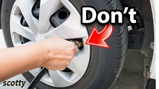 Stop Filling Up Your Tires