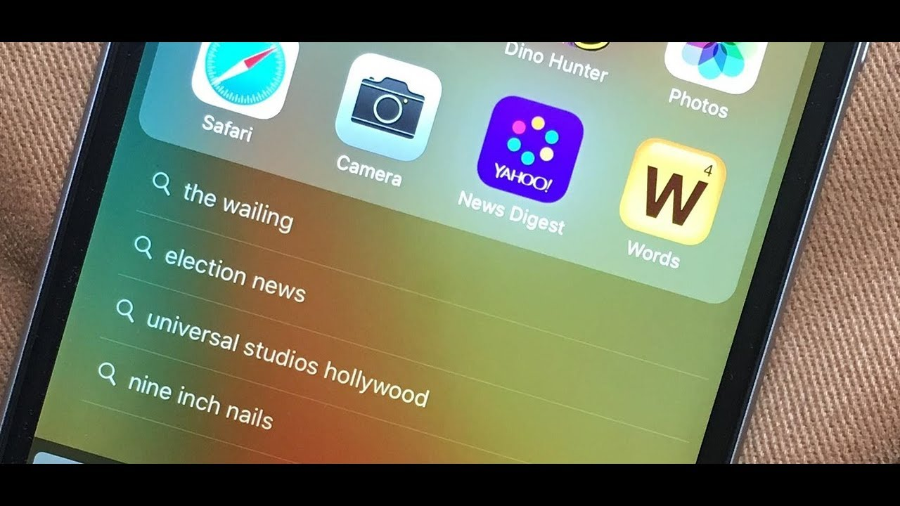 How To Clear Spotlight Search History On Iphone & Ipad
