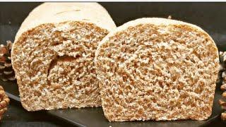 Pan casero 100 % integral, sano, fácil, barato y delicioso, os va a encantar hacerlo  