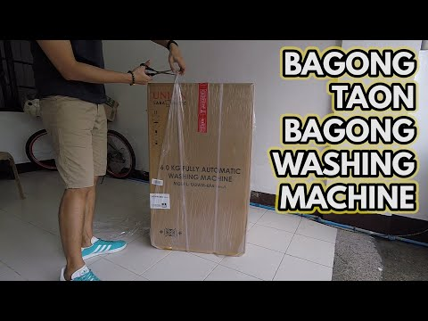 MURANG FULLY AUTOMATIC WASHER! How to install UNION Appliance Fully Automatic Washer Washing Machine