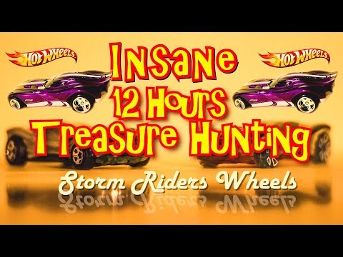 Insane Hot Wheels Let's Go Picking for 12 Hours - Shocking Treasure Hunt Finds Part 1