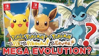 NEW MEGA EVOLUTIONS IN POKEMON LET'S GO PIKACHU & LET'S GO EEVEE? NEW TRADEMARKS AND SPECULATION!