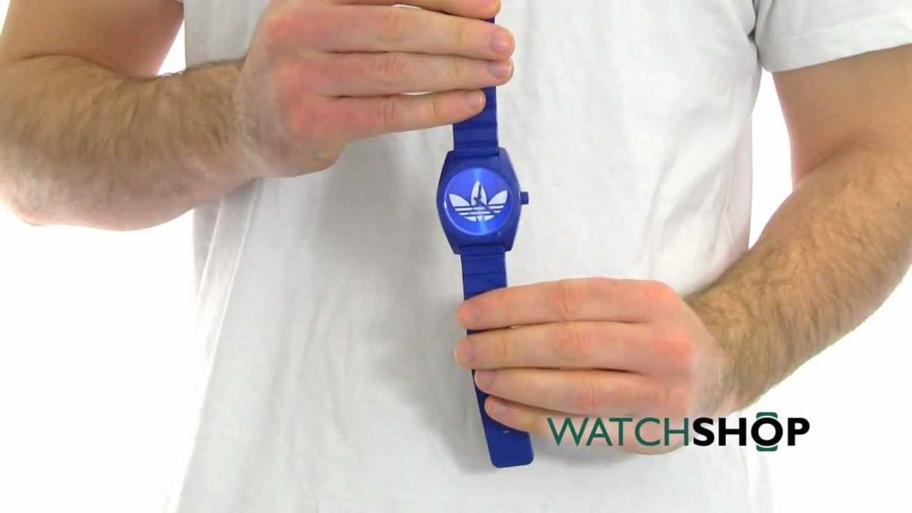 f115dcc5f9b Unisex Adidas Santiago Watch (ADH2656) - YouTube