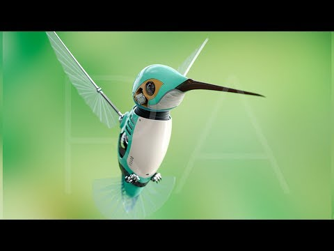 The HummingBird Robot : Engineers just built a bird bot that can fly better than Hummingbird.