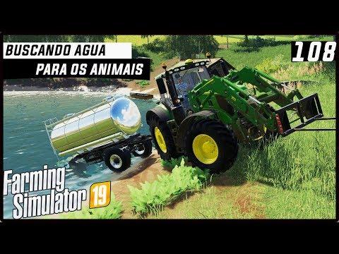 BUSCANDO ÁGUA PARA OS ANIMAIS! | FARMING SIMULATOR 19 #108 [PT-BR] thumbnail