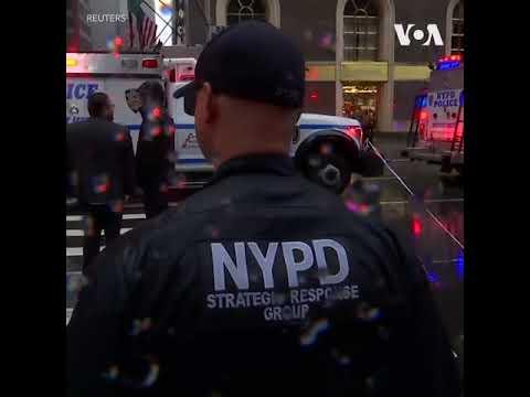 Крушение вертолета на Манхэттене