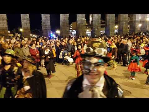 Carnaval en Segovia 2019. Desfile del sábado 2/3/2019