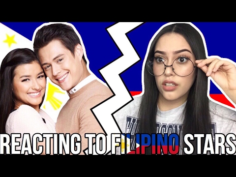 KPOP  REACTS TO FILIPINO STARS