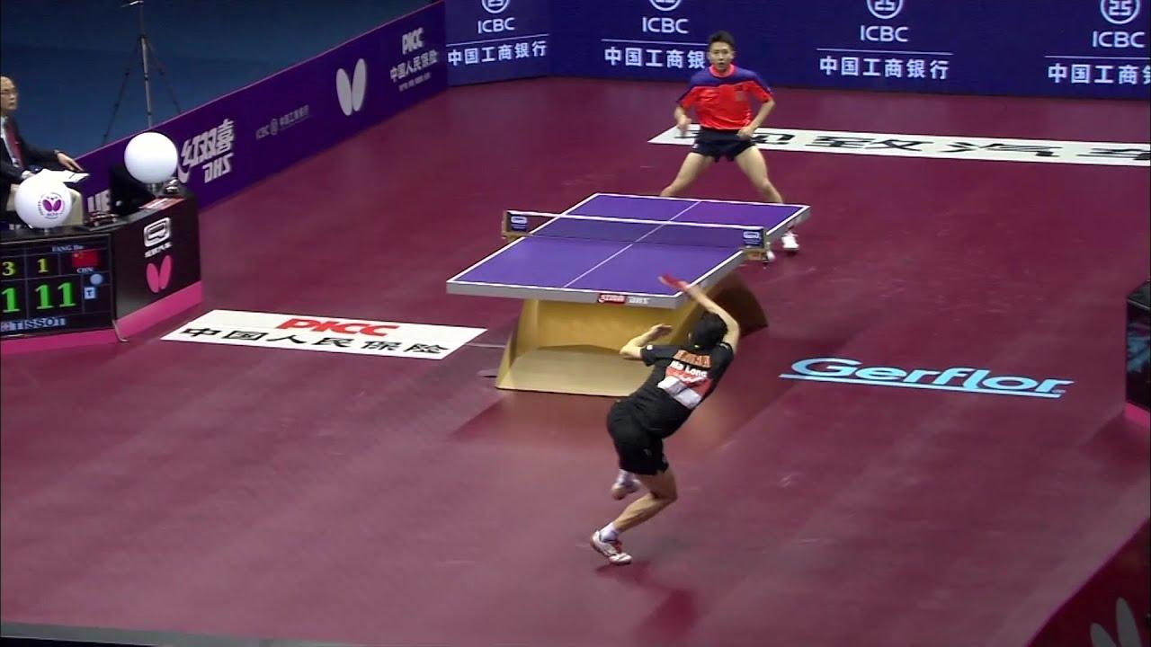 【スーパーラリー】これが決勝戦だ!馬龍vs方博 超絶ラリー 世界卓球2015蘇州 男子シングルス決勝