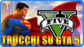 GTA 5 PS4 : TRUCCHI !!! Volare Come Superman,Neve,Invincibilita' !