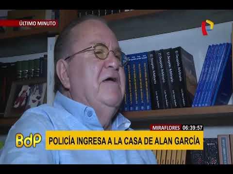 Alan García: ordenan detención preliminar en contra del expresidente (1/2)