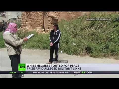 Struggling for peace? 'White Helmets' Nobel Prize nomination sparks controversy