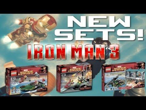 LEGO Iron Man 3 : 2013 Sets ANALYSIS!