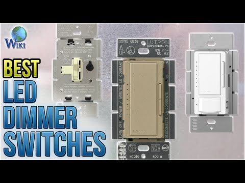 10 Best LED Dimmer Switches 2018