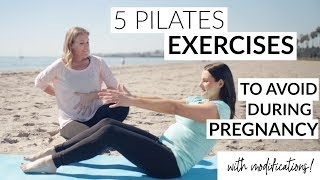 5 Pilates Exercises to Avoid During Pregnancy