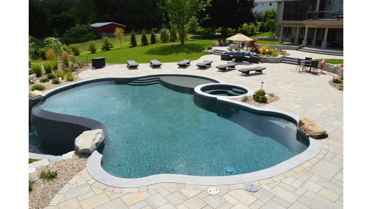 Aqua Pool And Patio Custom Pools   YouTube