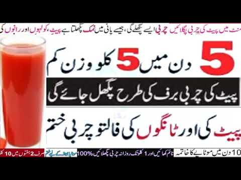 weight loss tips in urdu hindi , Drink , Melt Fat Away , No Diet No Exercise  ,how to lose weight fa